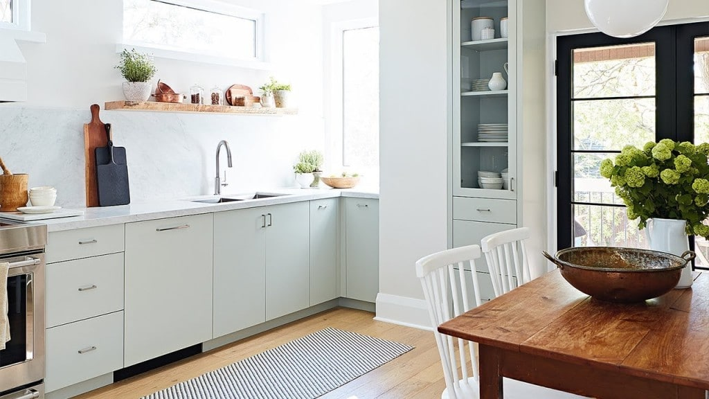 Kitchen Home staging & styling a property in Brisbane.
